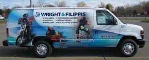 Wright & Filippis propane van