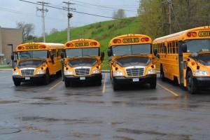 Washingtonville propane buses