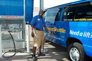 SuperShuttle propane fueling