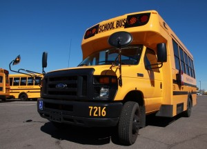 Mesa propane bus