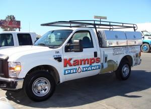Kamps Propane truck