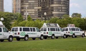 GO Airport propane vans