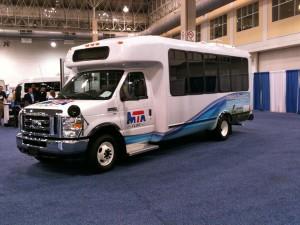 Flint MTA propane shuttle bus