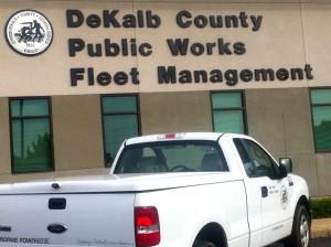 Dekalb County propane truck