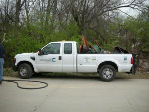 City of Cincinnati propane truck