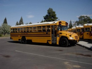 Bend-La Pine propane school bus