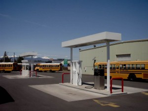 Bend-La Pine propane fueling station