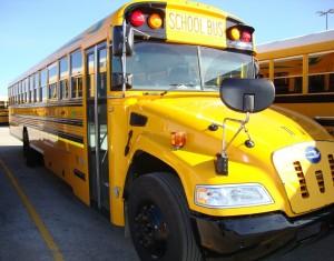 Warren Township propane bus