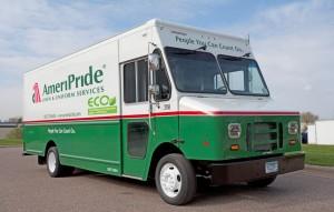 AmeriPride Propane Truck