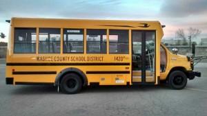 (Washoe County School District) Type A School Bus