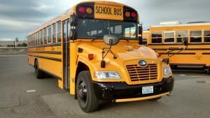 Blue Bird Propane Vision Type C School Bus