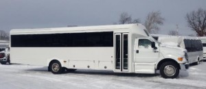 F-750 Large Commercial Shuttle Bus