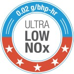 NOx badge 2018 Ultra Low NOx