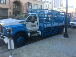 Kamps Sideload Propane Truck