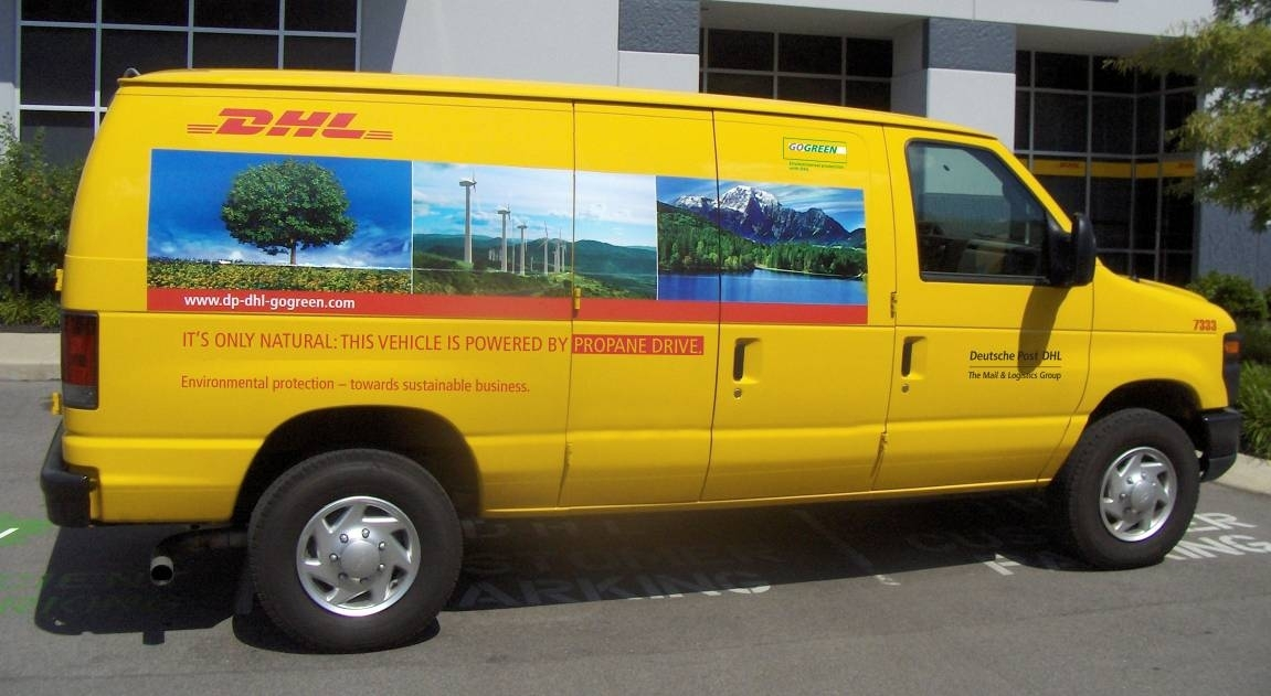 Dhl Express Launches 100 Propane Autogas Vans For Pickup
