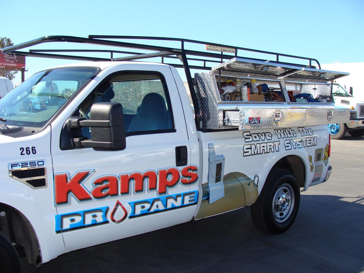 Kamps Propane Alt Fuel Vehicle