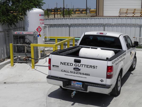 Austin Gutter King Alt Fuel Vehicle