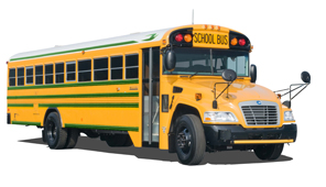 Alt Fuel School Bus